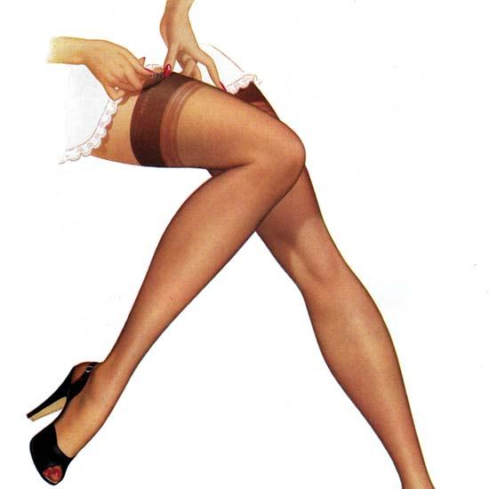 Ads pantyhose leg