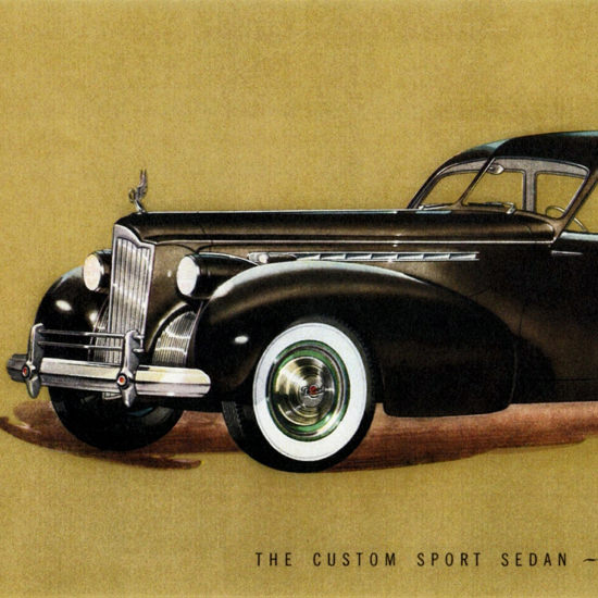 Detail Of Packard Super 8 One Eighty Sport Darrin 1940