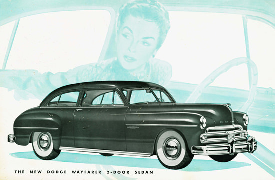dodge wayfarer 2 door sedan 1950 mad men art vintage ad art 1950 Dodge Coronet 4 Door dodge wayfarer 2 door sedan 1950 mad men art vintage ad art collection