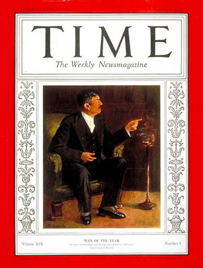 1932-01 Pierre Laval Copyright Time Magazine | Time Magazine Covers 1923-1970
