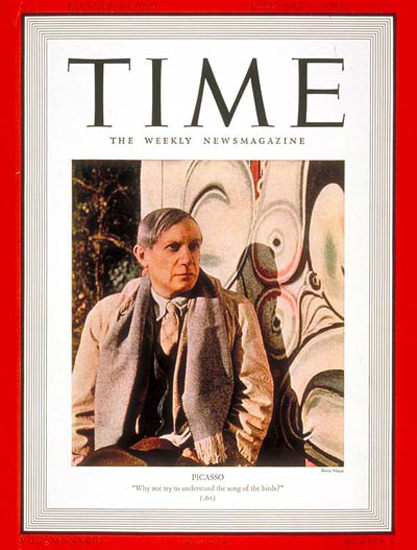 1939-02 Pablo Picasso Copyright Time Magazine | Time Magazine Covers 1923-1970