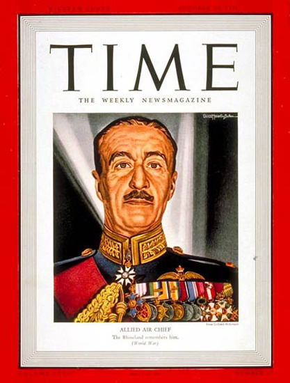 1939-10 Sir Cyril Newall Copyright Time Magazine | Time Magazine Covers 1923-1970