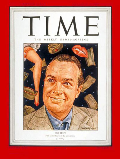 1943-09 Bob Hope Copyright Time Magazine | Time Magazine Covers 1923-1970