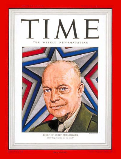 1947-06 General Dwight Eisenhower Copyright Time Magazine | Time Magazine Covers 1923-1970
