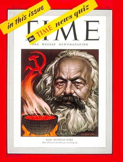 1948-02 Karl Marx Copyright Time Magazine | Time Magazine Covers 1923-1970