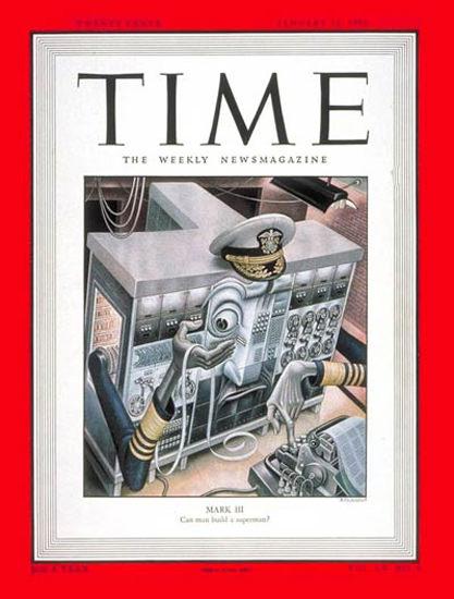 1950-01 Mark III Copyright Time Magazine | Time Magazine Covers 1923-1970