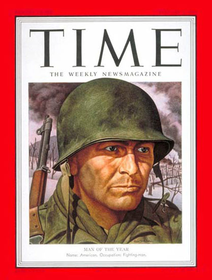 1951-01 GI Joe Copyright Time Magazine | Time Magazine Covers 1923-1970