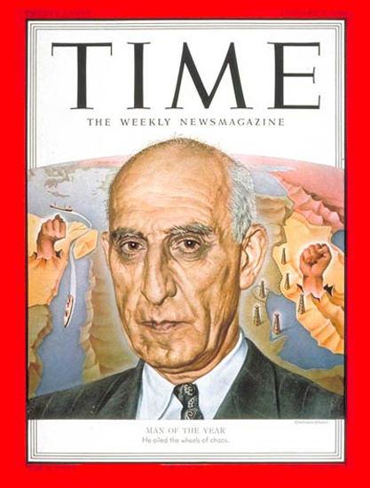 1952-01 Mohammed Mossadeg Copyright Time Magazine   Time Magazine Covers 1923-1970