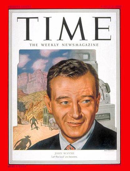 1952-03 John Wayne Copyright Time Magazine | Time Magazine Covers 1923-1970