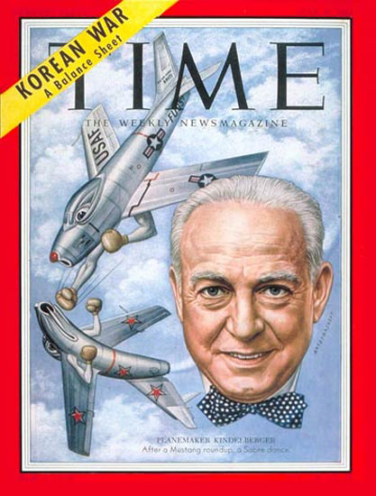 1953-06 James H Kindelberger Copyright Time Magazine | Time Magazine Covers 1923-1970