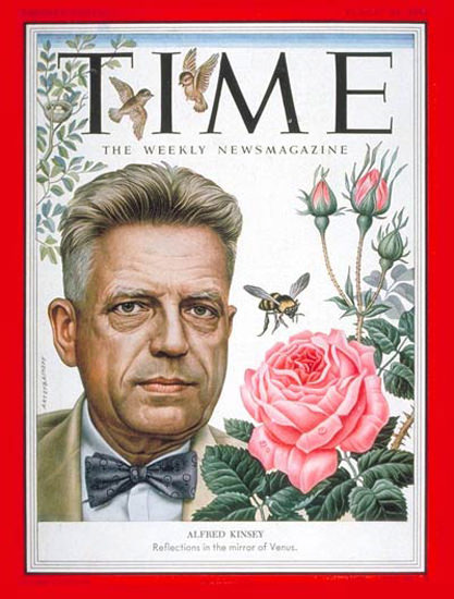1953-08 Dr Alfred C Kinsey Copyright Time Magazine | Time Magazine Covers 1923-1970