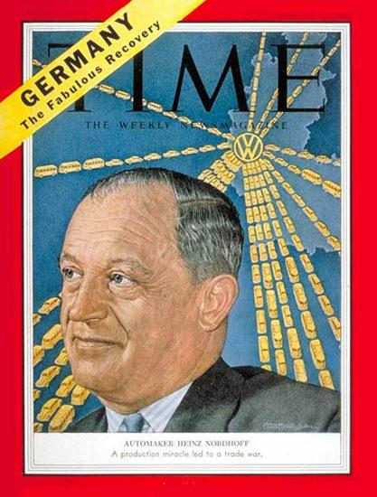 1954-02 Heinz Nordoff Copyright Time Magazine   Time Magazine Covers 1923-1970