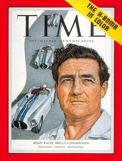 1954-04 Briggs S Cunningham Copyright Time Magazine | Time Magazine Covers 1923-1970