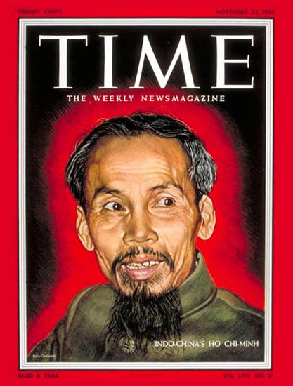 1954-11 Ho Chi Minh Copyright Time Magazine | Time Magazine Covers 1923-1970