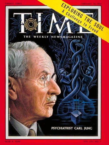 1955-02 Carl Jung Copyright Time Magazine | Time Magazine Covers 1923-1970