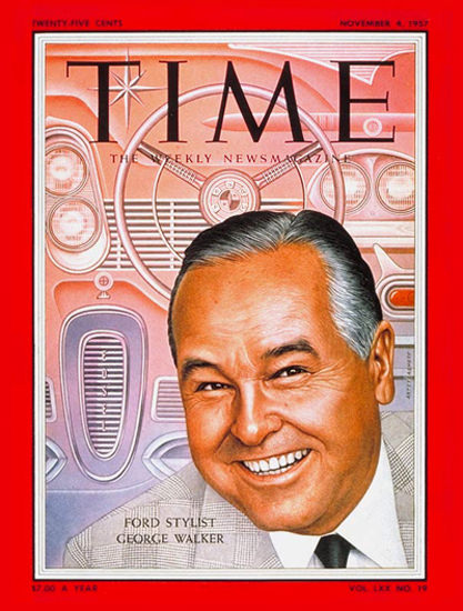 1957-11 George W Walker Copyright Time Magazine | Time Magazine Covers 1923-1970