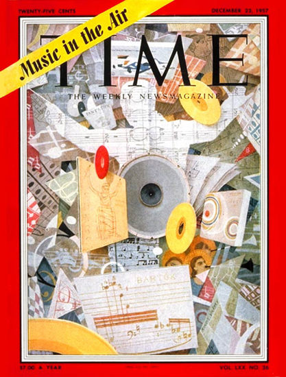 1957-12 US Music Boom Copyright Time Magazine | Time Magazine Covers 1923-1970