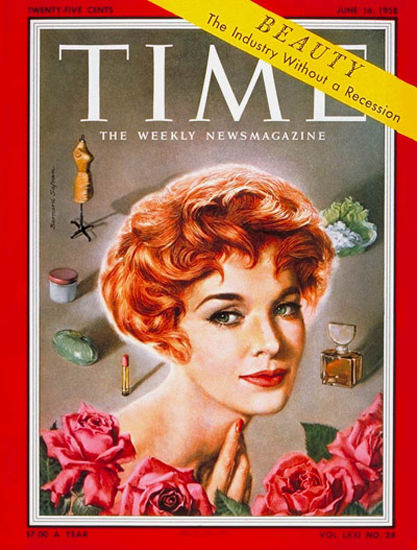 1958-06 Jean Thorn Copyright Time Magazine | Time Magazine Covers 1923-1970