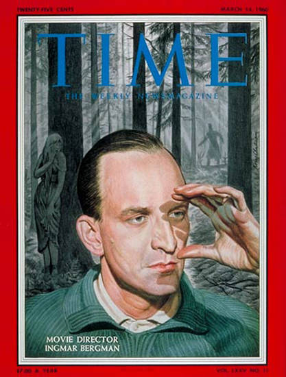 1960-03 Ingmar Bergman Copyright Time Magazine | Time Magazine Covers 1923-1970