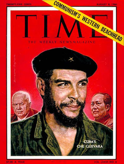 1960-08 Che Guevara Copyright Time Magazine | Time Magazine Covers 1923-1970