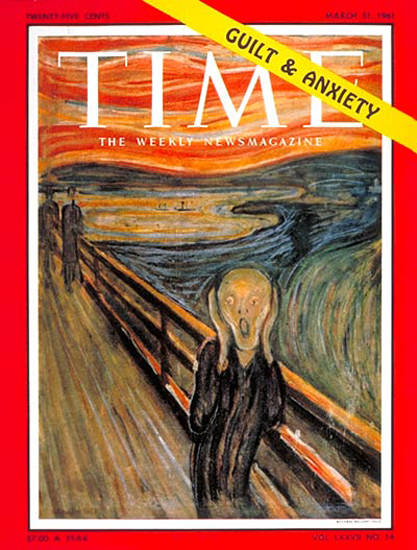 1961-03 Guilt and Anxiety Copyright Time Magazine | Time Magazine Covers 1923-1970