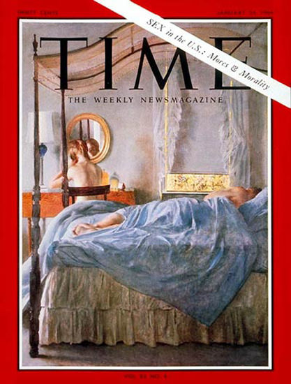 1964-01 Sex in the US Mores Morality Copyright Time Magazine | Time Magazine Covers 1923-1970