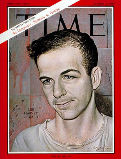 1964-10 Lee Harvey Oswald Copyright Time Magazine | Time Magazine Covers 1923-1970