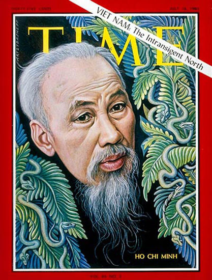 1965-07 Ho Chi Minh Copyright Time Magazine | Time Magazine Covers 1923-1970