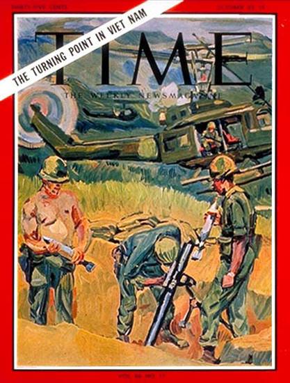 1965-10 Vietnam War Copyright Time Magazine | Time Magazine Covers 1923-1970