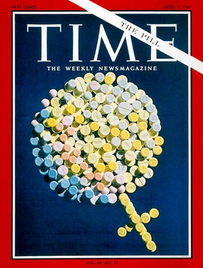 1967-04 The Pill Copyright Time Magazine | Time Magazine Covers 1923-1970