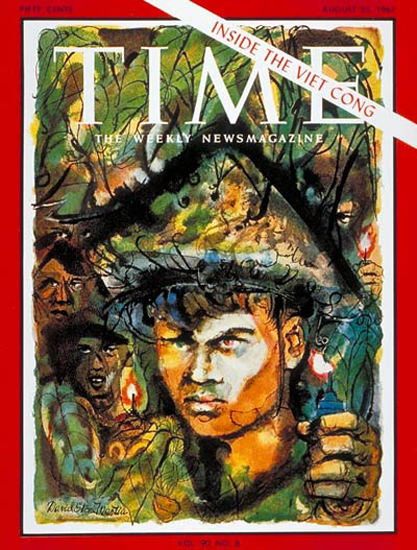 1967-08 Inside the Viet Cong Copyright Time Magazine | Time Magazine Covers 1923-1970