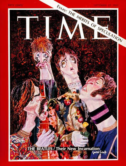 1967-09 The Beatles Copyright Time Magazine | Time Magazine Covers 1923-1970
