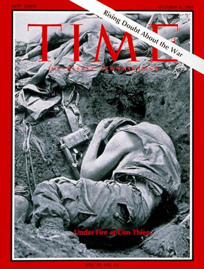1967-10 Marines at Con Thien Copyright Time Magazine | Time Magazine Covers 1923-1970