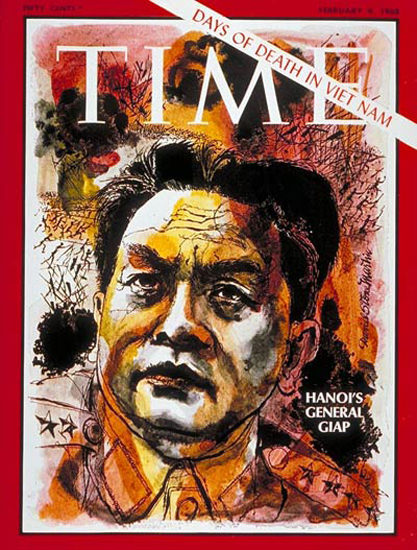 1968-02 General Vo Nguyen Giap Copyright Time Magazine   Time Magazine Covers 1923-1970