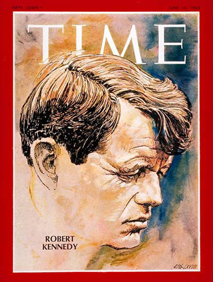 1968-04 Robert F Kennedy Copyright Time Magazine | Time Magazine Covers 1923-1970