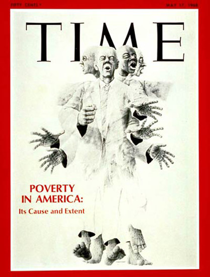 1968-05 Poverty in America Copyright Time Magazine | Time Magazine Covers 1923-1970