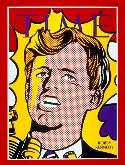 1968-05 Robert F Kennedy Copyright Time Magazine | Time Magazine Covers 1923-1970