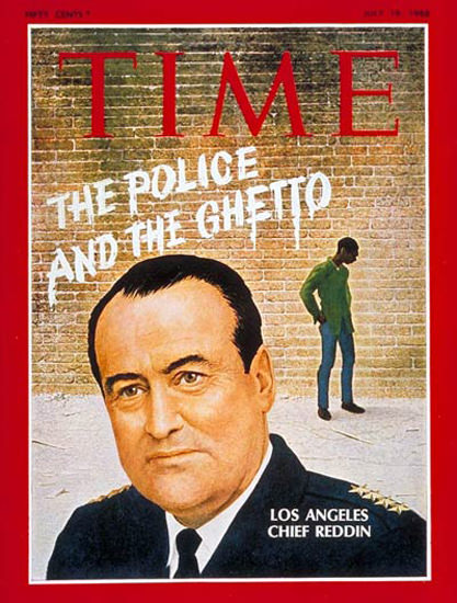 1968-07 Tom Reddin Ghetto Copyright Time Magazine | Time Magazine Covers 1923-1970