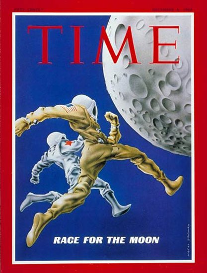 1968-12 Race for the Moon Copyright Time Magazine | Time Magazine Covers 1923-1970