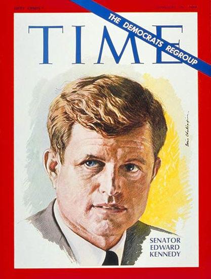 1969-01 Senator Edward Kennedy Copyright Time Magazine | Time Magazine Covers 1923-1970