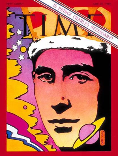 1969-06 Prince Charles UK Copyright Time Magazine | Time Magazine Covers 1923-1970