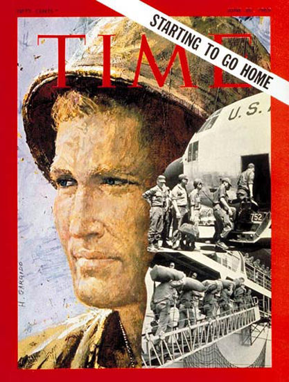 1969-06 Troop Withdrawal Copyright Time Magazine | Time Magazine Covers 1923-1970