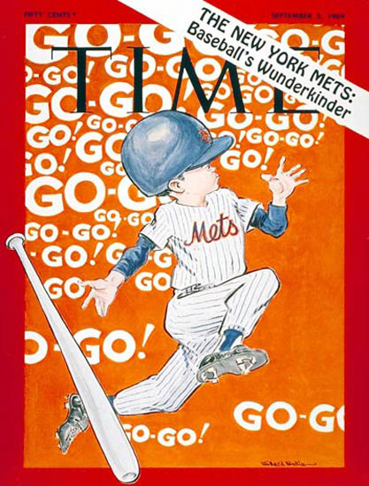 1969-09 New York Mets Baseballs Wunderkind Copyright Time Magazine | Time Magazine Covers 1923-1970