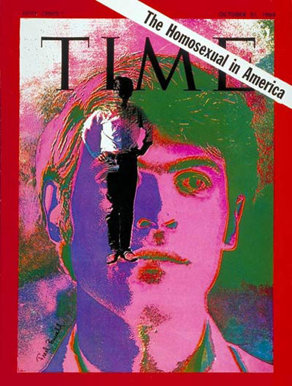 1969-10 The Homosexual Copyright Time Magazine | Time Magazine Covers 1923-1970