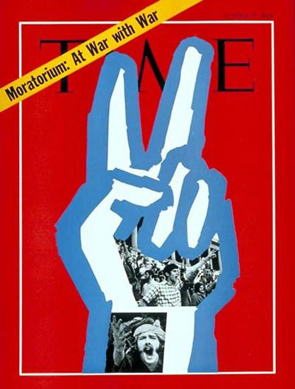 1969-10 Vietnam Moratorium Copyright Time Magazine   Time Magazine Covers 1923-1970