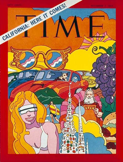 1969-11 California Copyright Time Magazine | Time Magazine Covers 1923-1970
