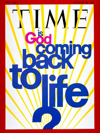 1969-12 Is God Coming Back to Life Copyright Time Magazine | Time Magazine Covers 1923-1970