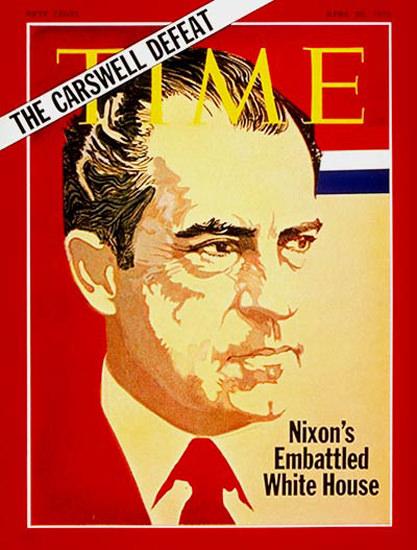 1970-04 Richard Nixon Copyright Time Magazine | Time Magazine Covers 1923-1970