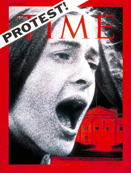 1970-05 US Student Protest Copyright Time Magazine | Time Magazine Covers 1923-1970