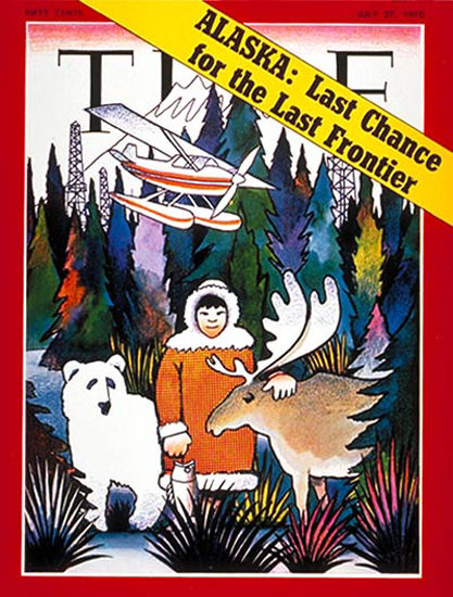 1970-07 Alaska Copyright Time Magazine | Time Magazine Covers 1923-1970